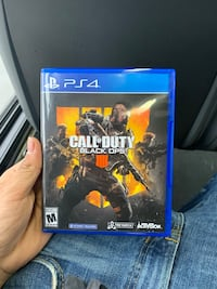 PS4 call of duty black ops 4 NEW CONDITION  Silver Spring, 20910