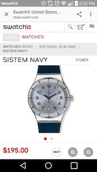 Swatch Automatic watch NEW Los Angeles, 90042