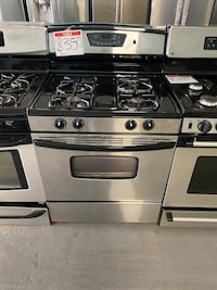 Amana used stainless steel gas stove Reisterstown, 21136