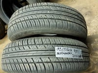 selling A set of set of two MOTOMASTER 195/70R14 all season tires  VANCOUVER