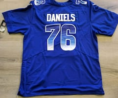 Packers #76 Daniels mens xl Probowl Jersey