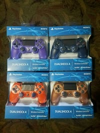 Multi color ps4 controllers  North Charleston