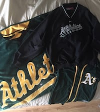 Oakland A's blanket, jersey, and sweater Salinas, 93907