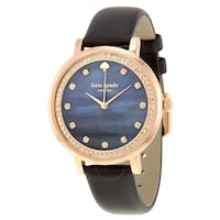 Authentic Kate Spade rose gold crystal watch Vancouver