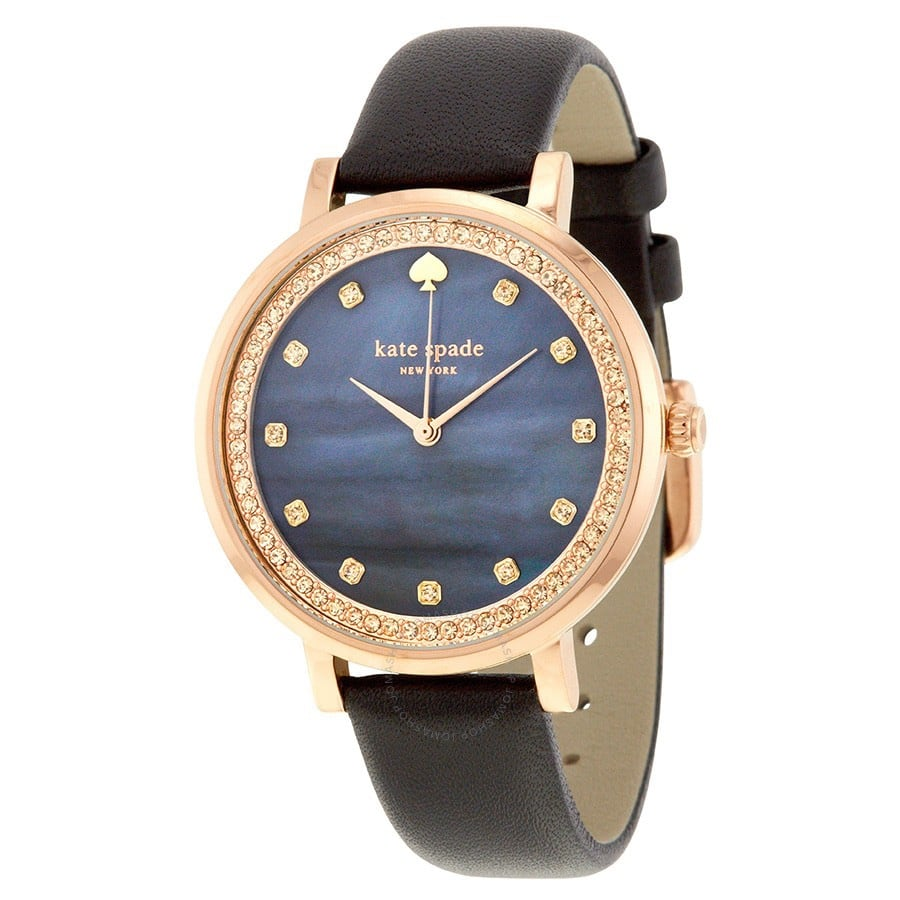 Authentic Kate Spade rose gold crystal watch