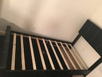 New twin size platform bed (new in the box) Silver Spring, 20902
