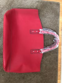 Large red purse (new) Oakville, L6M 1C8