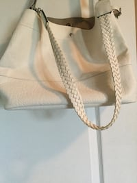 White handbag.Merona for 10