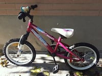toddler's red and white bicycle Toronto, M1G 2B7