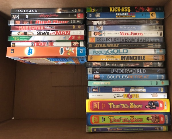 DVDs  , all in good condition