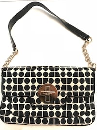 Kate Spade black and white flap bag Alexandria, 22310