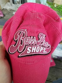 red Bass Pro Shops embroidered baseball cap