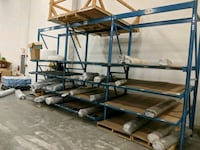 3 sections gravity feed racking Olive Branch, 38654