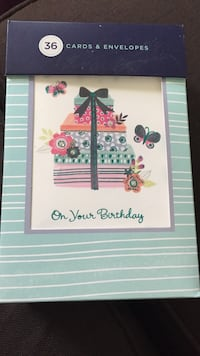 (36) birthday cards Regina, S4N 7B9