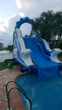 water slide rental onlg Miami, 33183