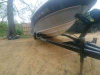 nice boat trailer single axle new tires great shape