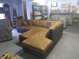 Sectional brand new