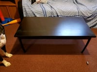 black wooden coffee table  Kitchener, N2E 1L1