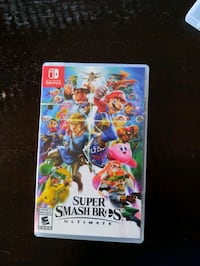 Smash bros ultimate for the switch Waterloo, N2L 2C3