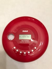 RCA CD Player/FM Stereo  Wrens, 30833