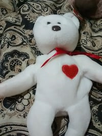 white and red bear plush toy Broken Arrow, 74012
