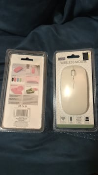 White wireless mouse pack Los Angeles, 91343