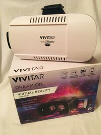 Vivitar virtual reality headset compatible with most phones