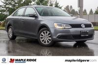 2014 Volkswagen Jetta Sedan Comfortline SUNROOF, GREAT CONDITION, LOCAL CAR!