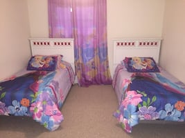 Girls Twin bed room