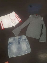 skirt and shorts size-9 new from macys large top Stockton, 95219