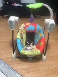 Fisher-Price swing and seat