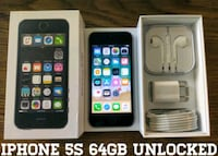 Iphone 5S UNLOCKED 64GB (Like-New) Read Descriptio Arlington