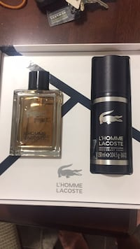 Lacoste 100 ml gift box with deodarant Aldergrove, V4W 2R4
