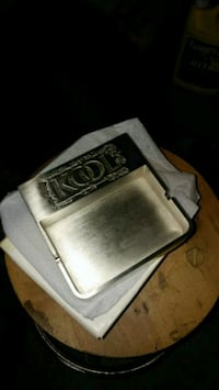 Collectible stainless steel kool ashtray
