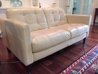 Three Seater Sofa and Two Seater Loveseat (Leather) Chevy Chase, 20815