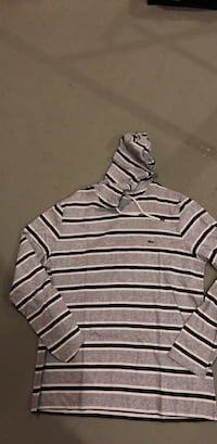 gray and white stripe polo shirt Edmonton, T6T 0Z7