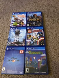 Ps4 bundle games Bakersfield, 93306