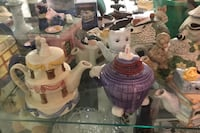 Collectible tea pots