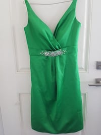 Emerald green Prom dress or wedding guest dress White Rock, V4B 4W3