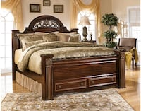 Gabriela Queen Bed With Two Night Stand 420 mi