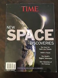 Time New Space Discoveries book Valencia, 91354