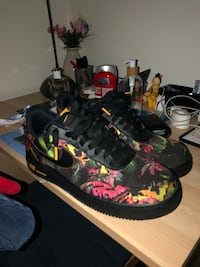 Floral air force 1  negotiable