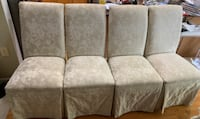 Four dining room chairs for $100 Centreville