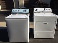 white washer and dryer set Atascadero, 93422