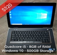 Dell E6420 Laptop (great for work/school) Toronto, M4J 2A1