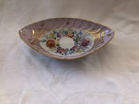 French Limoges hand painted bowl