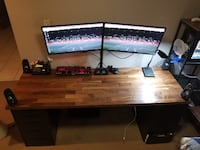 Real Walnut Desk Hamilton
