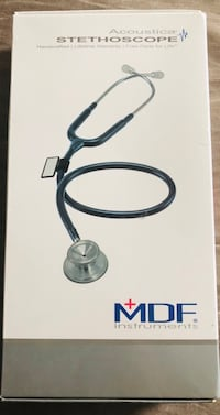 MDF Instruments Acoustica Stethoscope White Plains, 20695