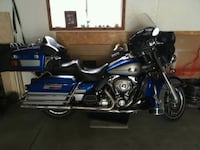 blue and gray touring motorcycle Hastings, 55033