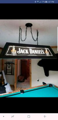 Jack Daniels pool table light  Frederick